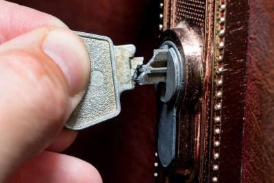 slot kapot gebroken sleutel